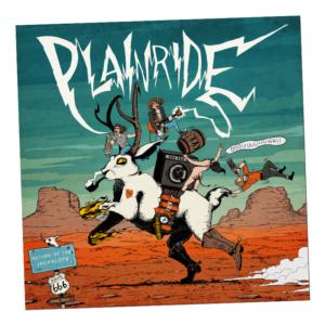 BEER001 - Plainride - Return Of The Jackalope (CD)